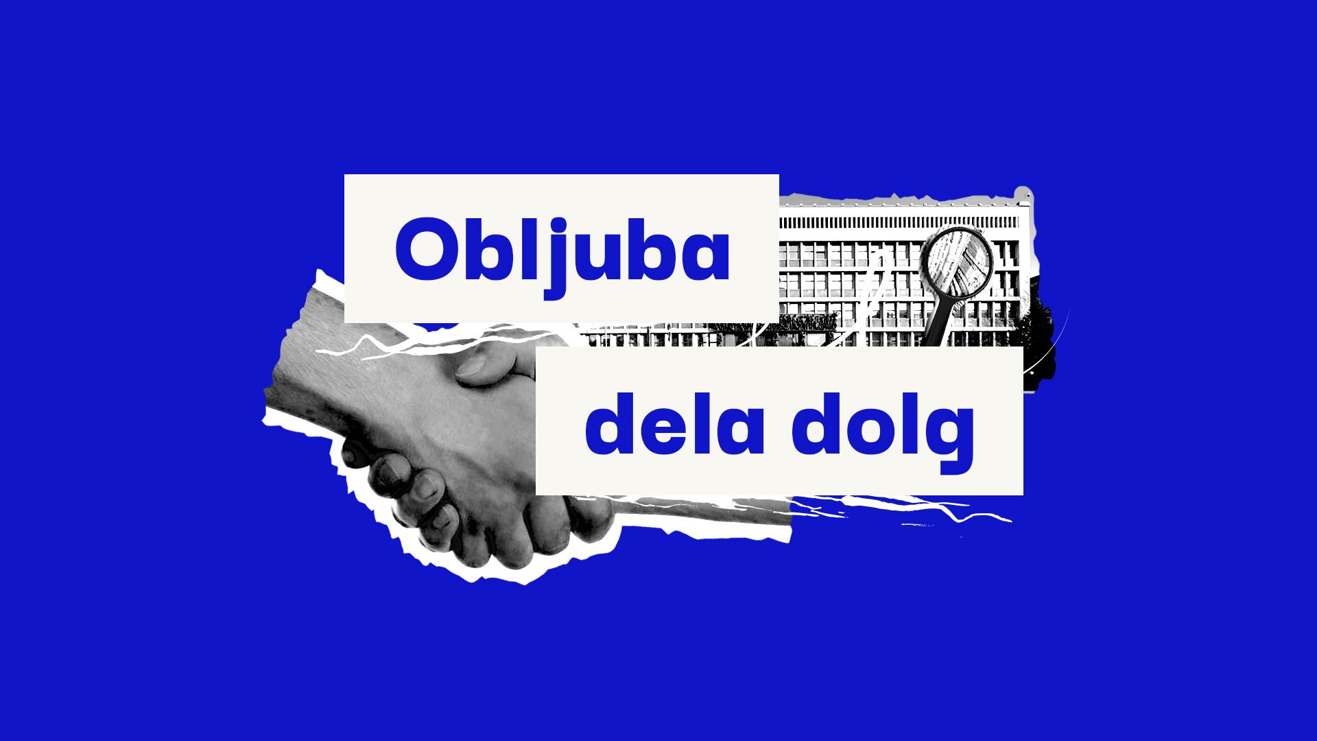 Logotip projekta Obljuba dela dolg