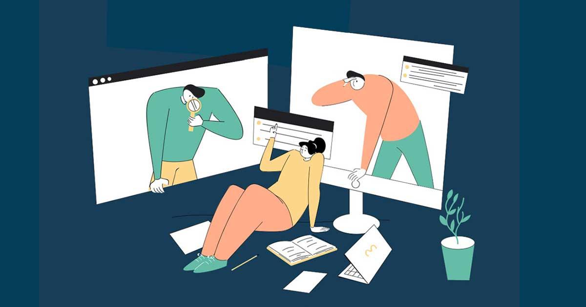 Ilustracija Lestvice transparentnosti
